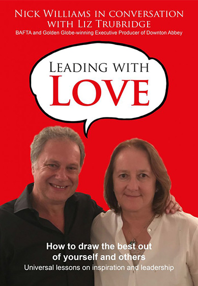 Leading with Love book cover